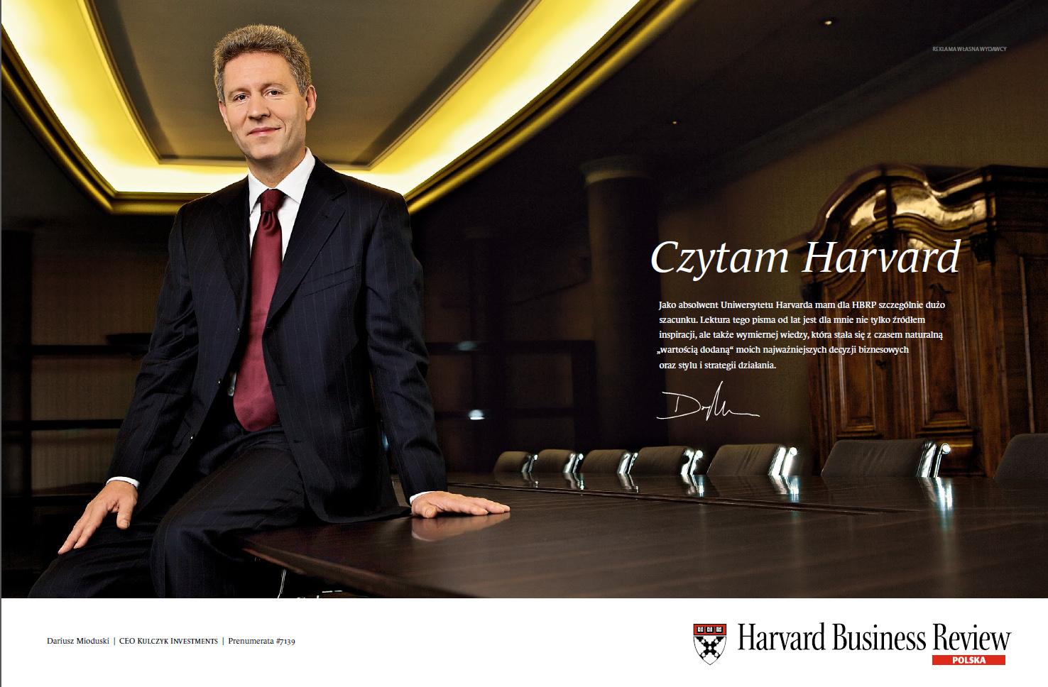 Dariusz Mioduski, CEO Kulczyk Investments